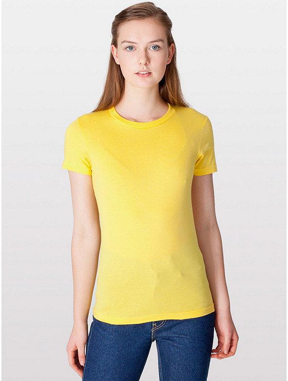 Fine Jersey Short Sleeve Women's T