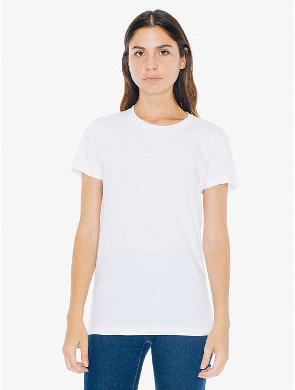 Fine Jersey Short Sleeve Women's T-Shirt