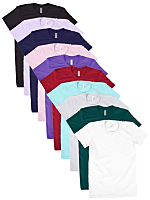 Not-So-Perfect  Women's Fine Jersey Short Sleeve T (10-Pack)