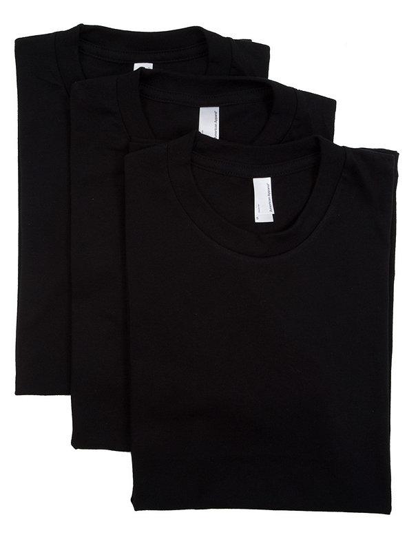 Fine Jersey Short Sleeve Women's T (3-Pack)