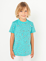 NeoMax Kids Fine Jersey Short Sleeve T-Shirt - Starry Skies