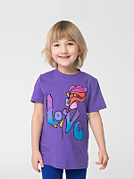 NeoMax Kids Fine Jersey Short Sleeve T-Shirt - Love