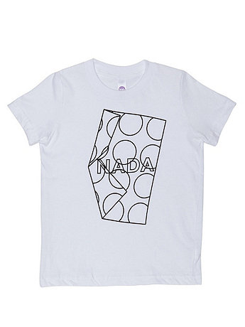 Screen Printed Kids Fine Jersey Short Sleeve T-Shirt - NADA