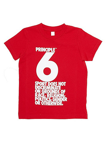 Principle 6 Screen Printed Kids Fine Jersey Short Sleeve T-Shirt