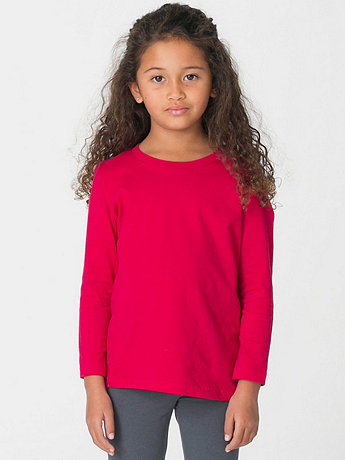 Kids Fine Jersey Long Sleeve T