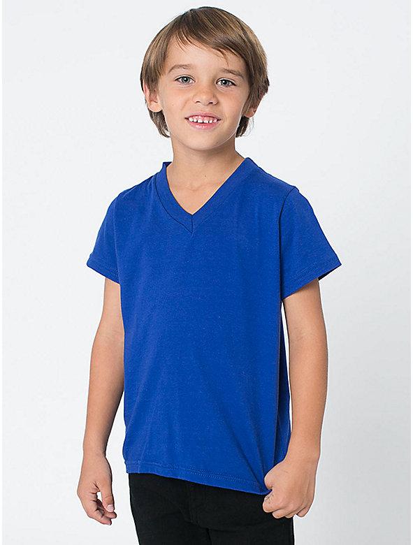 Kids' Fine Jersey V-Neck T-Shirt