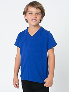 Kids' Fine Jersey V-Neck T-Shirt