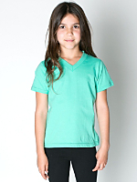 Kids Fine Jersey V-Neck T-Shirt