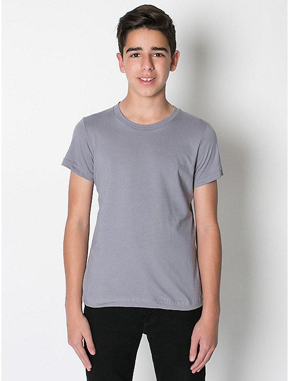 Youth Fine Jersey Short Sleeve T-Shirt