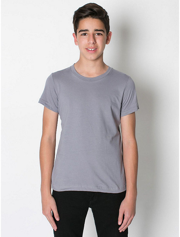 Youth Fine Jersey Short Sleeve T-Shirt