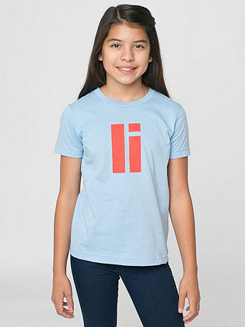 Youth Helvetica Alphabet Fine Jersey Short Sleeve T