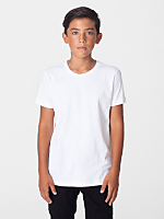 Organic Youth Fine Jersey Short Sleeve T-Shirt