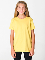 Organic Youth Fine Jersey Short Sleeve T-Shirt