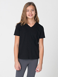 Youth Fine Jersey V-Neck T-Shirt