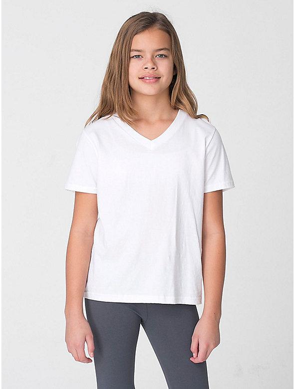 Youth Fine Jersey V-Neck T-Shirt