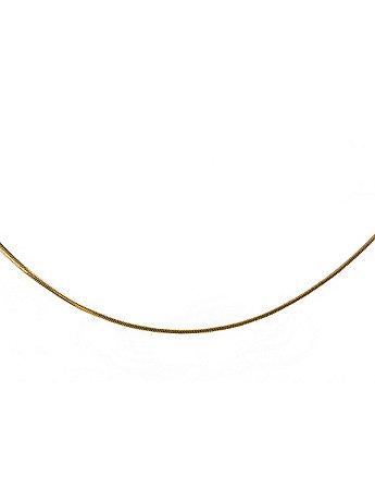 22Kt Gold Tone Snake Anklet