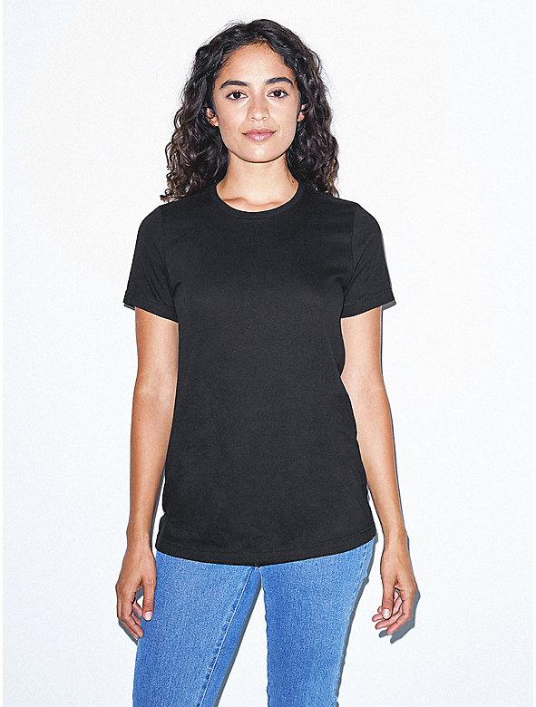 Organic Fine Jersey Crewneck T-Shirt
