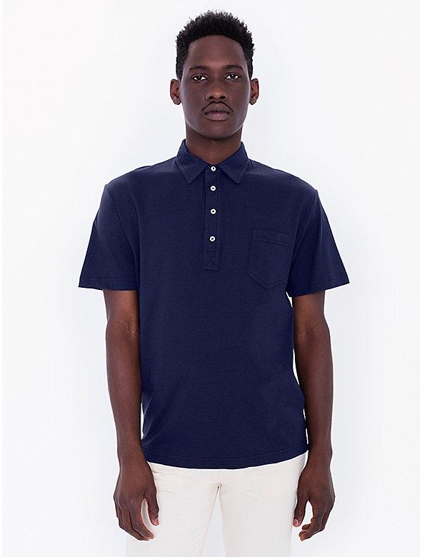 Fine Jersey Short Sleeve Leisure Shirt