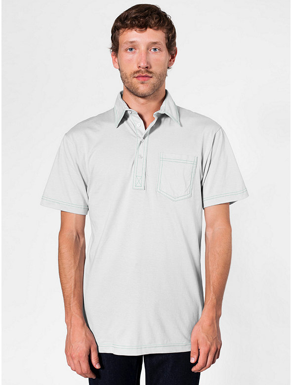 Fine Jersey Short Sleeve Leisure Shirt