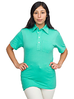 Unisex Fine Jersey Short Sleeve Leisure Shirt
