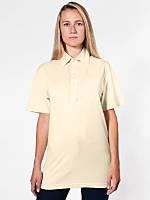 Unisex Organic Fine Jersey Short Sleeve Leisure Shirt