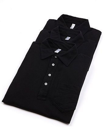 Fine Jersey Short Sleeve Leisure Shirt (3-Pack)