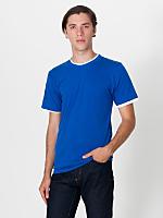 Fine Jersey Mock Double S/S T-Shirt