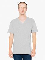 Fine Jersey Short Sleeve V-Neck
