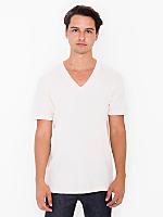 Organic Fine Jersey Short Sleeve V-Neck