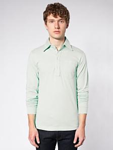 Fine Jersey Long Sleeve Leisure Shirt