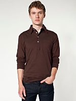 Fine Jersey Long Sleeve Leisure Shirt
