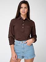 Unisex Fine Jersey Long Sleeve Leisure Shirt