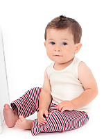 Organic Infant Rib Tank Top