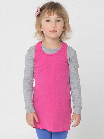 Kids' Rib Racerback Dress