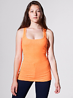 Highlighter Rib U-Neck Tank