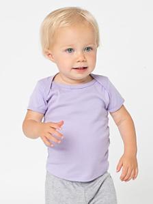 Infant Baby Rib Short Sleeve Lap T
