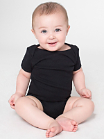 Infant Baby Rib Short Sleeve One-Piece