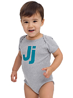 Helvetica Alphabet Infant Baby Rib Short Sleeve One-Piece