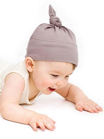 Organic Infant Baby Rib Hat