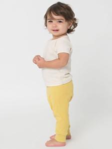 Organic Infant Baby Rib Legging