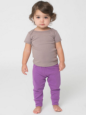 Organic Infant Baby Rib Legging