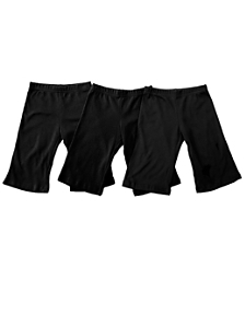 Infant Baby Rib Karate Pants (3-Pack)