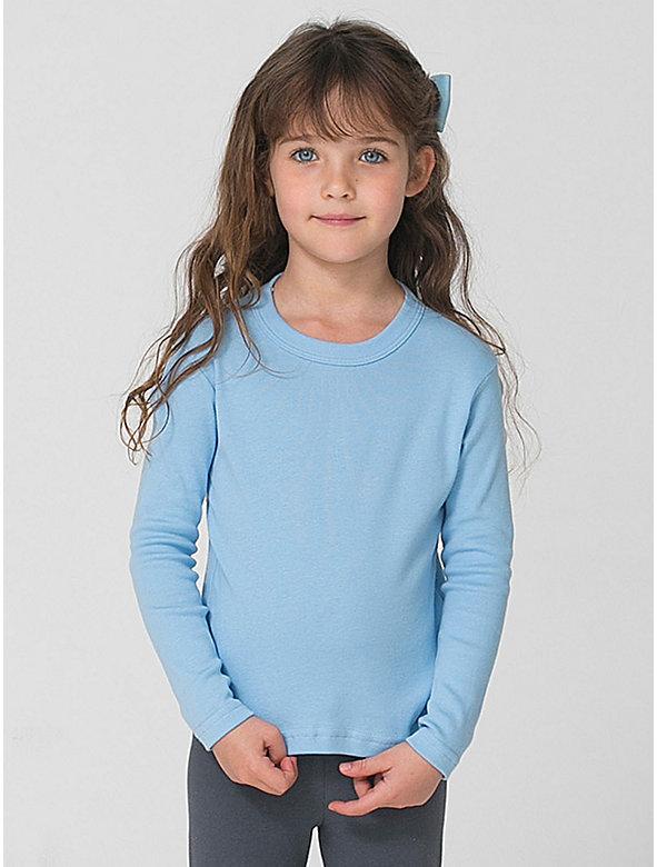 Kids' Baby Rib Long Sleeve T-Shirt