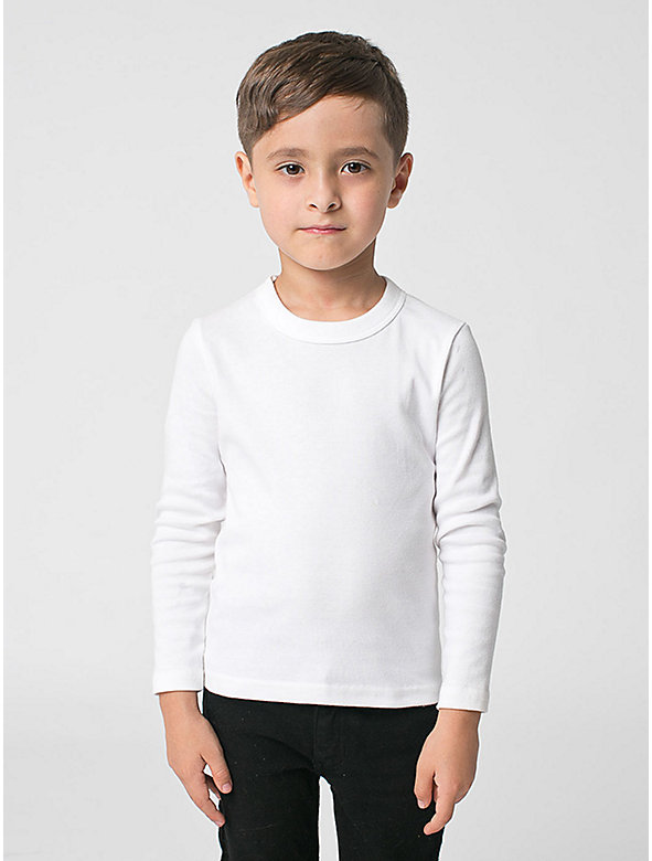 Kids' Baby Rib Long Sleeve T-Shirt