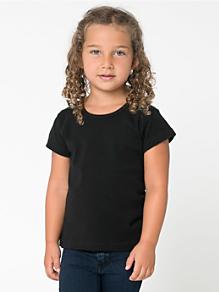 Kids' Baby Rib Cap Sleeve T-Shirt
