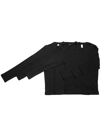 Youth Baby Rib Long Sleeve T (3-Pack)