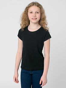 Youth Baby Rib Cap Sleeve T