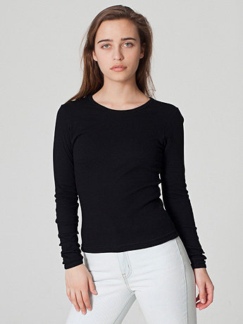 Baby Rib Long Sleeve T