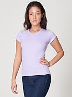 Baby Rib Cap Sleeve T-Shirt