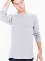 Baby Rib Fitted Long Sleeve T-Shirt